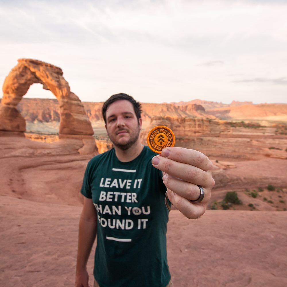 Happy belated birthday to Parks Project Ambassador Josh McNair @californiathrougmylens, who celebrated with a road trip to Arches National Park! #radparks