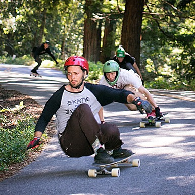 On the move, the third installment of the Keep on Tuckin' tour is up on wheelbasemag.com. Heading north they stopped in Santa Cruz and skated some epic forest runs with team rider Malachi Greene, followed closely here by Morgan Owens. Check the article...