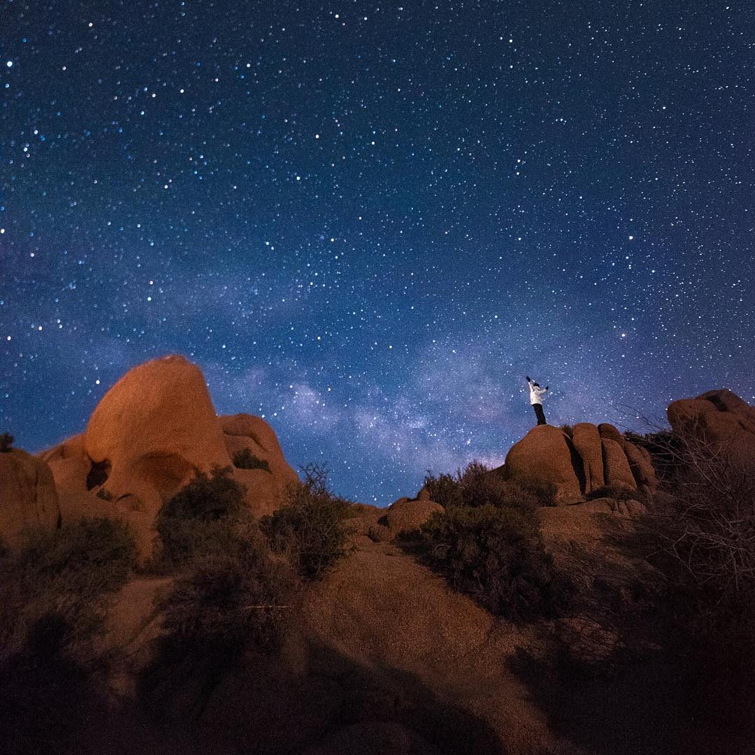 Beautiful shot by @irockutah - hopefully it inspires everyone to #getoutthere and have an #adventureworthy weekend! #night #sky #timelapse
