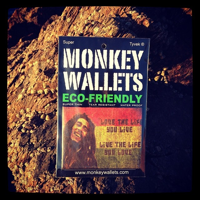 #monkeywallets #bobmarley #tyvek #punta @monkeywallets