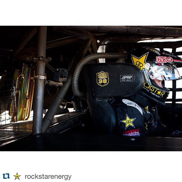 Repost from @rockstarenergy - Locked and loaded #rockstaroffroad