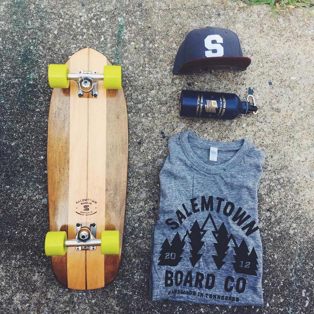 Goin out this weekend? Take us with you. #handmadeskateboard #Nashville