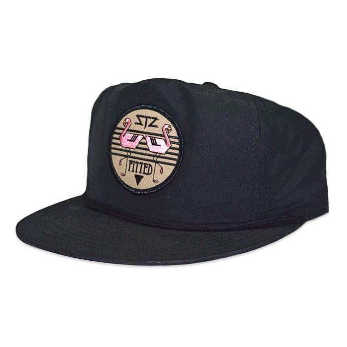 Only 10 left! Get pitted with this black poly SnapBack   Perfect for the hot summer days   ☀️