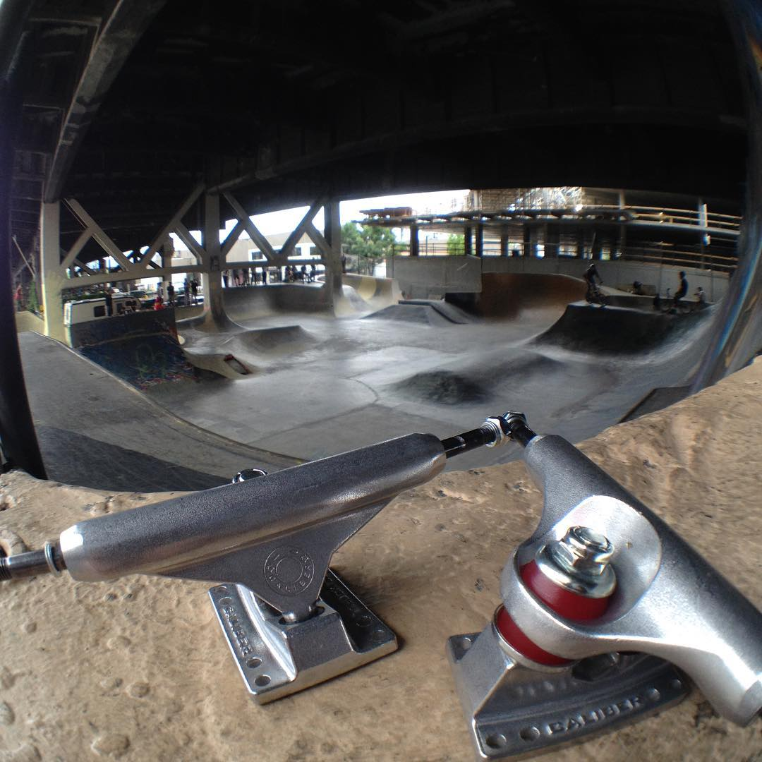 Leaving this set of #caliberstandards right here in Burnside skatepark, Portland. Come snag em! #SK8NORTH #olloclip shot @olloclip