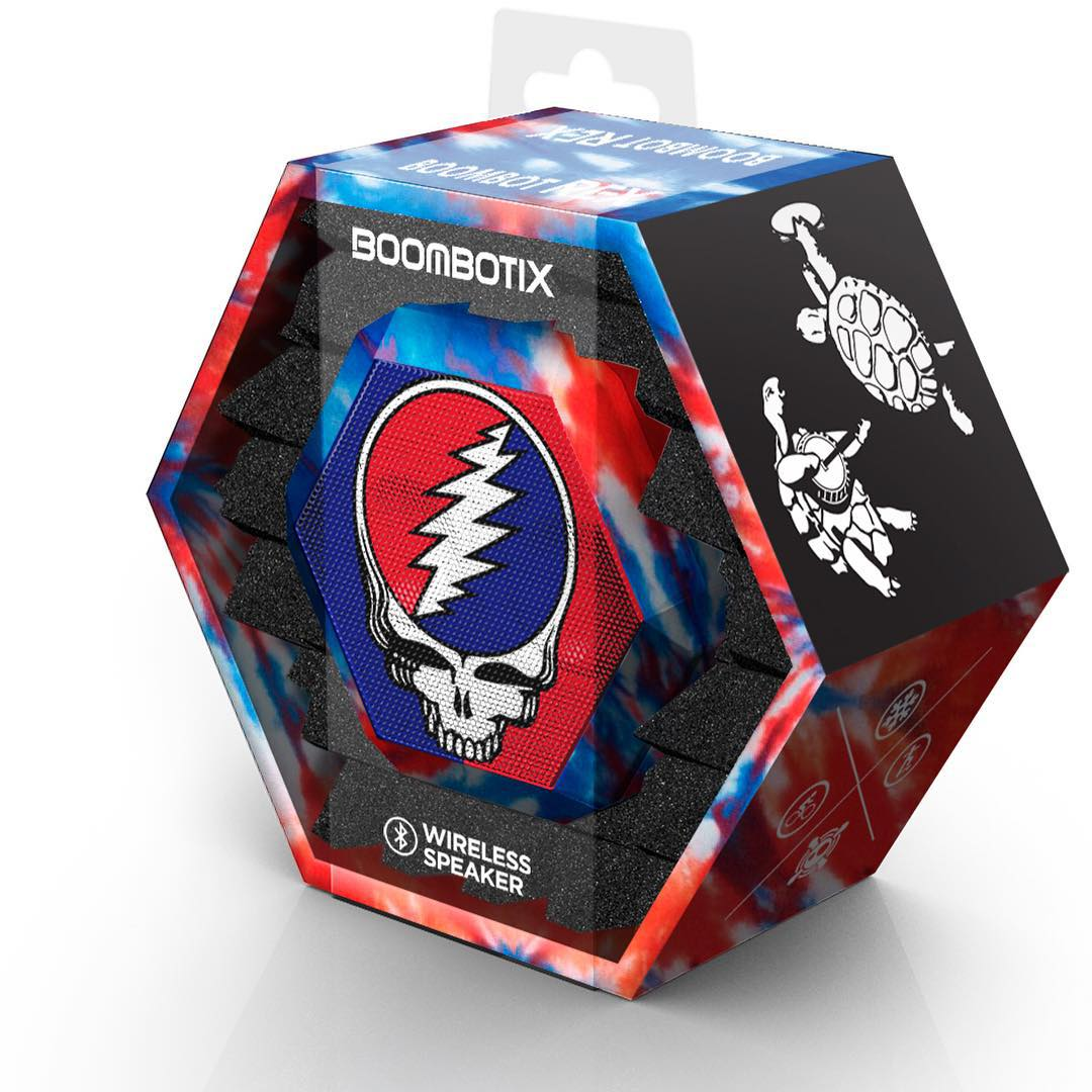 2 days left in the #gratefuldead #ftw giveaway!! Sign up at Boombotix.com/ftw