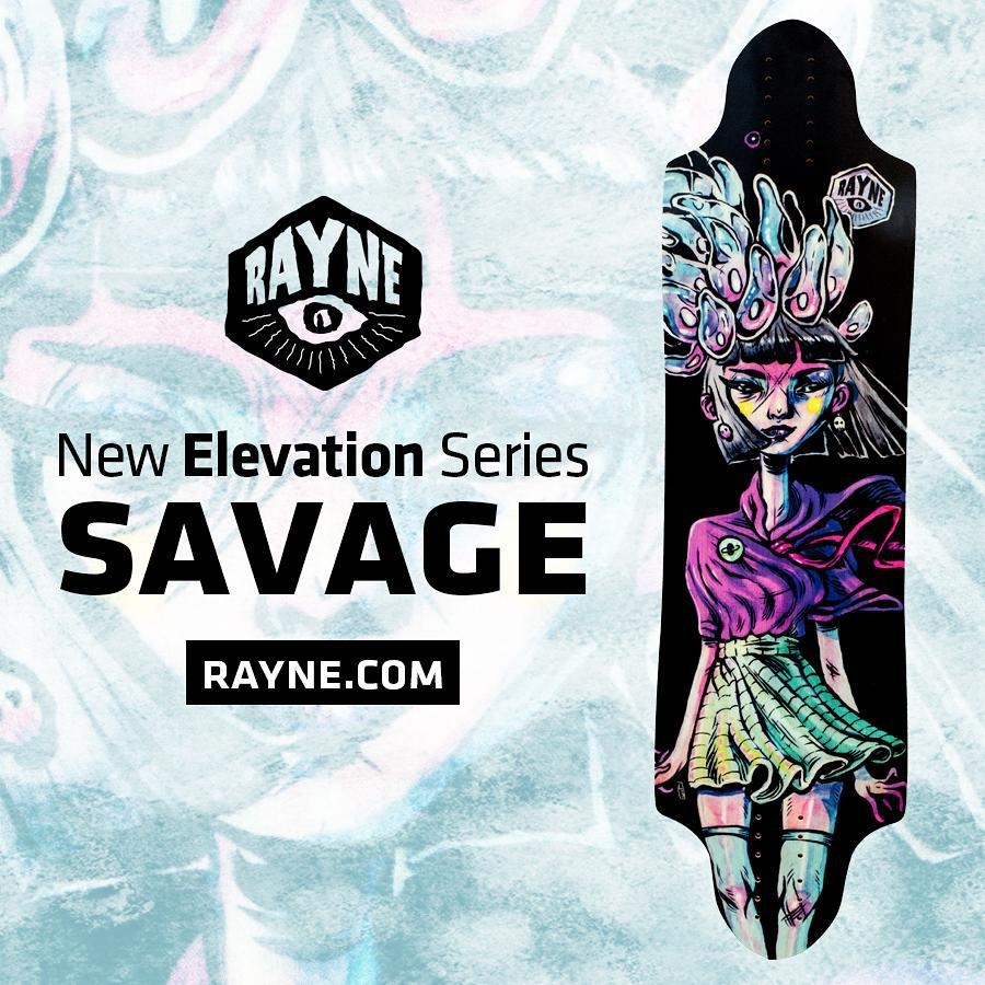 The #2015elevationseries #savage is here!  Check it out at www.Rayne.com or click the link in our bio