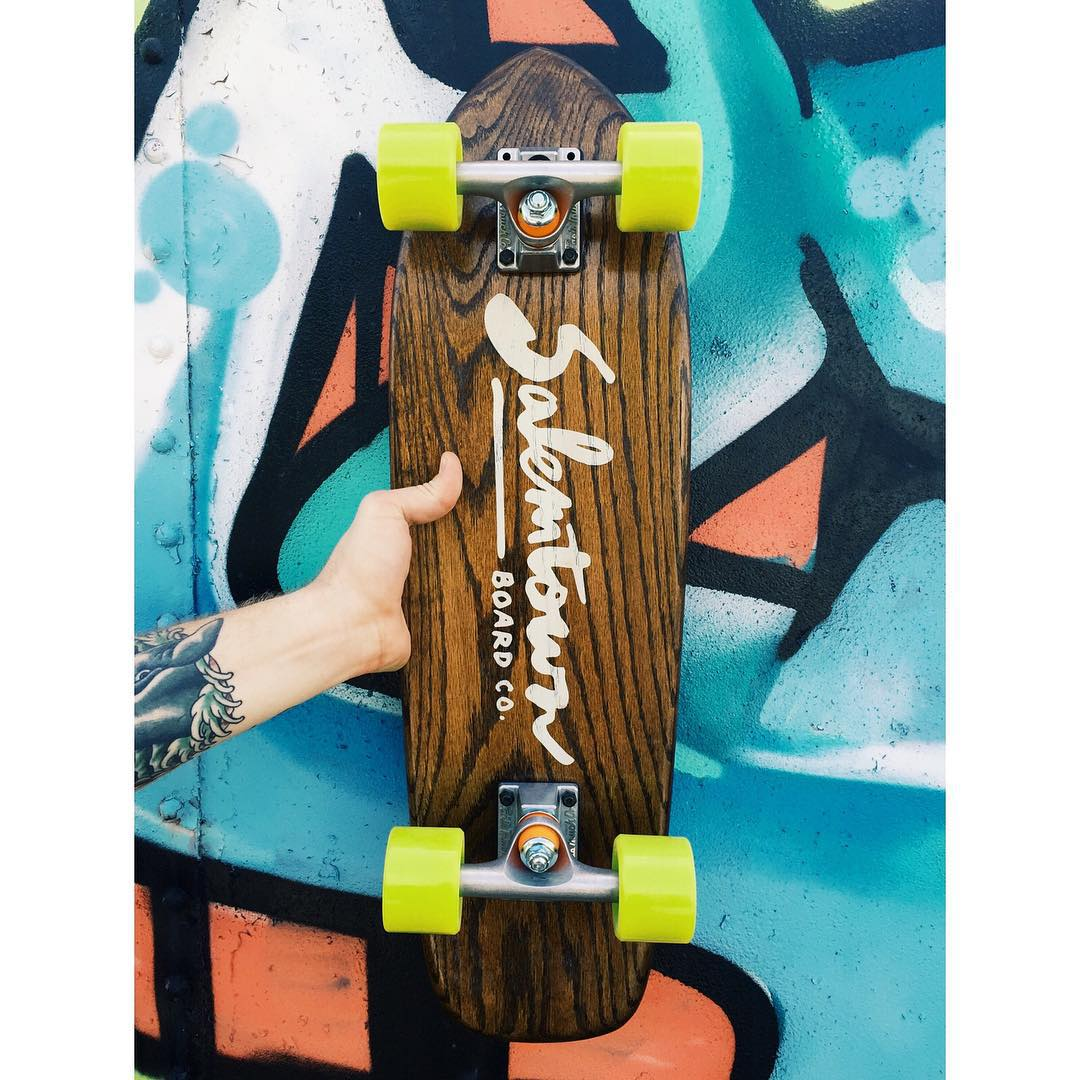 Sometimes simple is best. #handmadeskateboard #Nashville