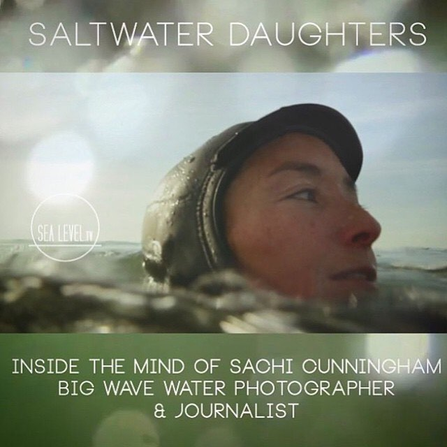 "@seasachi is one of the most inspiring women we know.  Please check out her interview on @surfline. She is an amazing water photgrapher, film maker, multimedia journalist, professor, mom, wife, surfer, friend, and all of those ""annoying things people..."