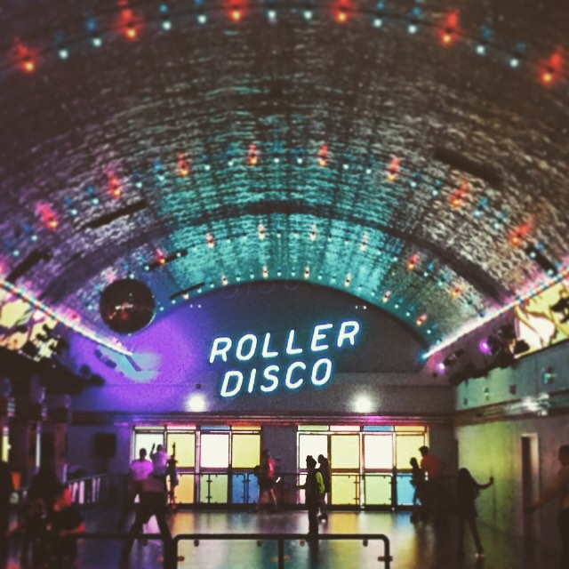 """Let's skip the Roller Disco""... said no one ever."