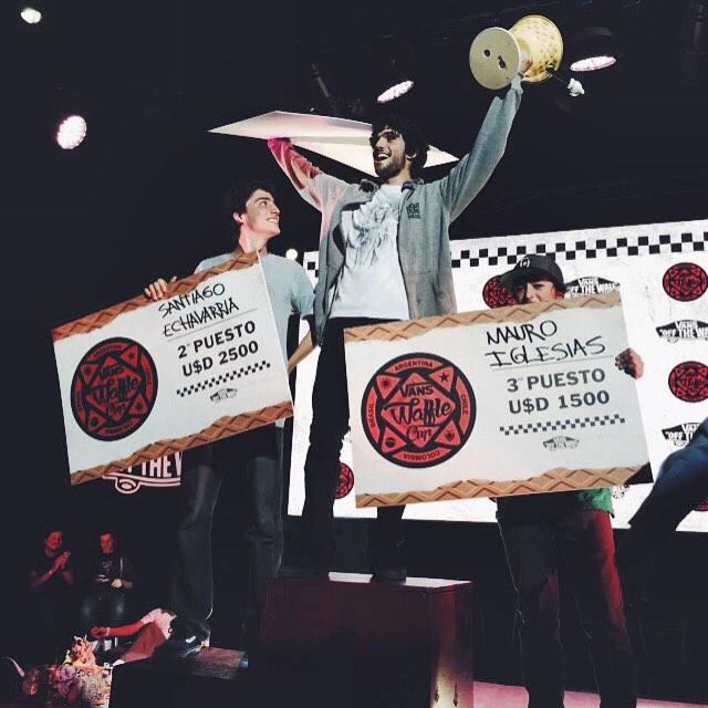 En una final más que peleada, @dariomattarollo se consagró campeón de la #VansWaffleCup