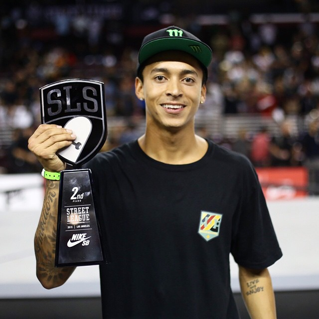 Congratulations to our dude @nyjah on winning second place today at @streetleague Los Angeles! You smashed it