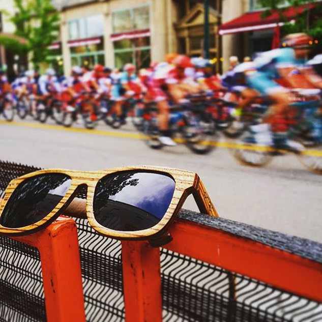 Home is where Boise is.. Anyone at the Twilight Criterium?! Photo by @brooksproof