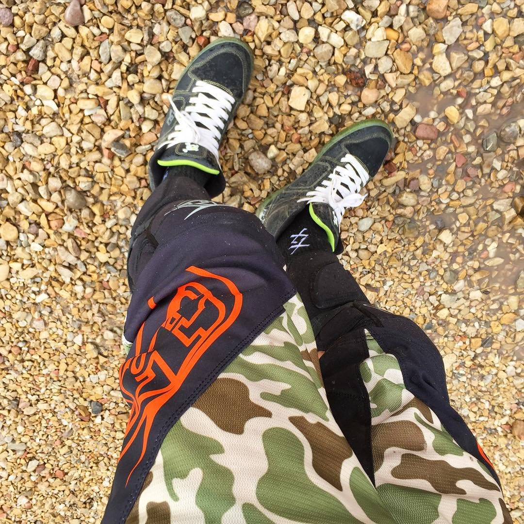 Love these new downhill mountain biking shorts from @TroyLeeDesigns. Thanks again, Troy! #iheartcamo #gearedup
