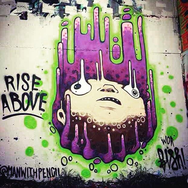 @manwithpencil #fish • • #atx #austintx #texas #tx #wor #spratx #streetart #graffiti #grafite #art