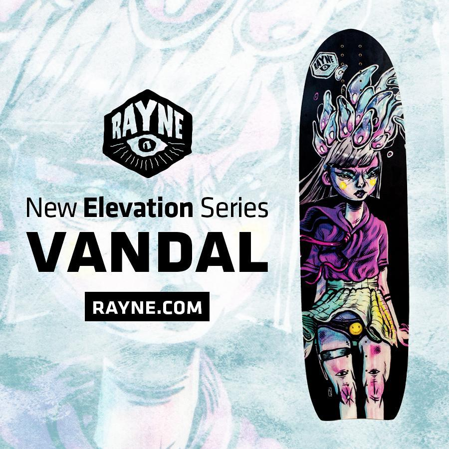 It's the #2015vandal and it couldn't be more fly.  Check out more about it at www.Rayne.com or click the link in our bio!  #wemakerayne