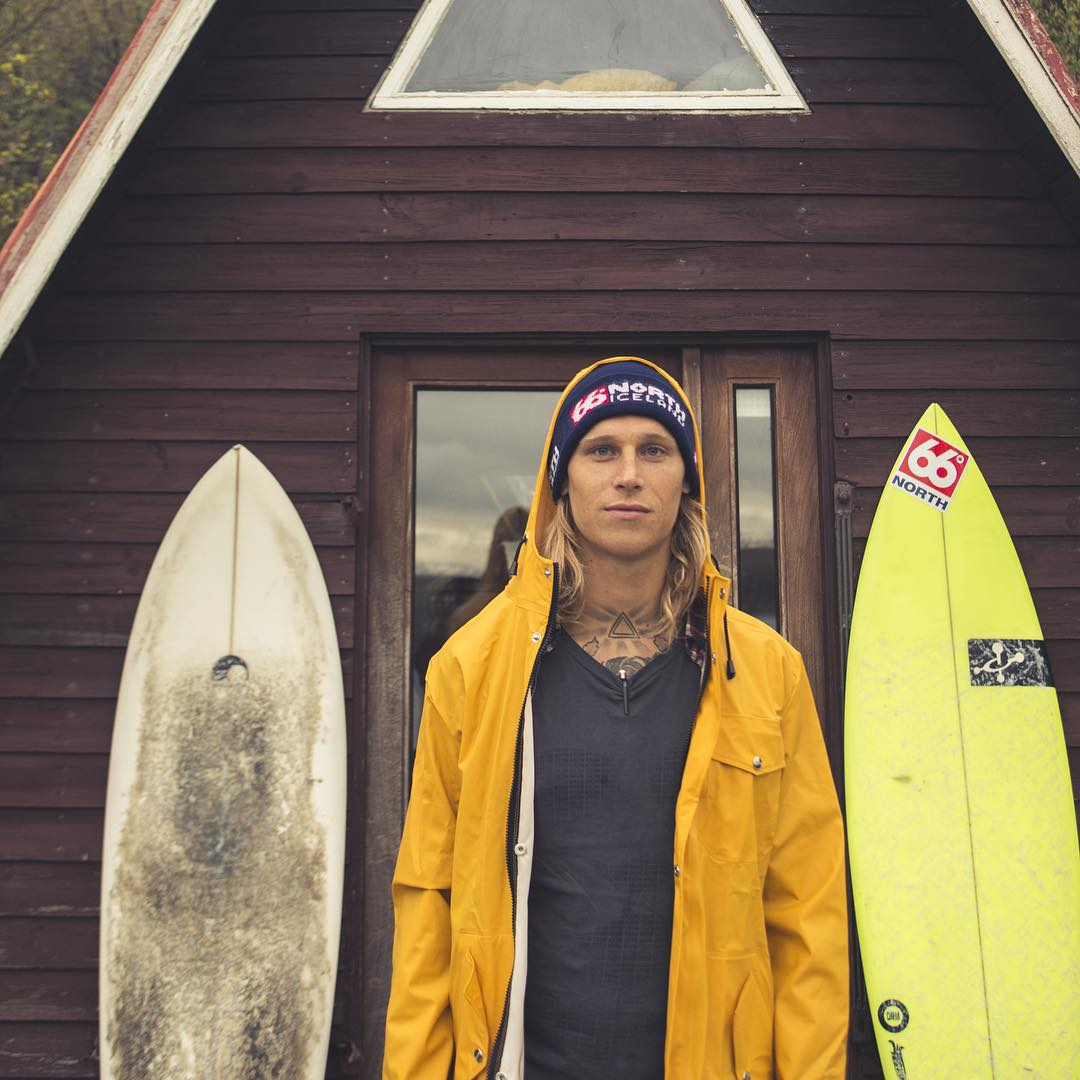 ​This is @Heidarlogi. He's the first sponsored surfer from Iceland. We are stoked to have him on our entourage. Check out his profile to see his epic adventures of surf, travel, and life in Iceland!  #PermissionToPlay