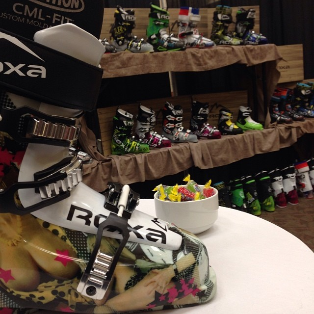 Sneak peak of the all new FreeScandal at the SIA/WWSRA On-snow demo at Copper Mtn. #scandal #wwsra #sia14 @coppermountaib