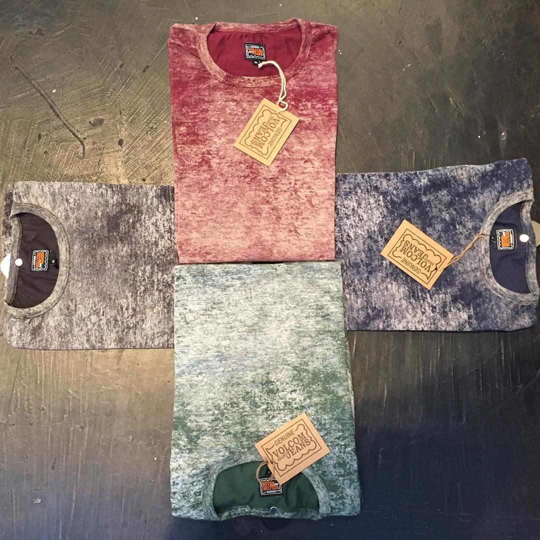 Solid Dye #VBJ Tee con materiales sustentables, reciclables y renovables ♻️ #VolcomBrandJeans #AW15 #TrueToThis