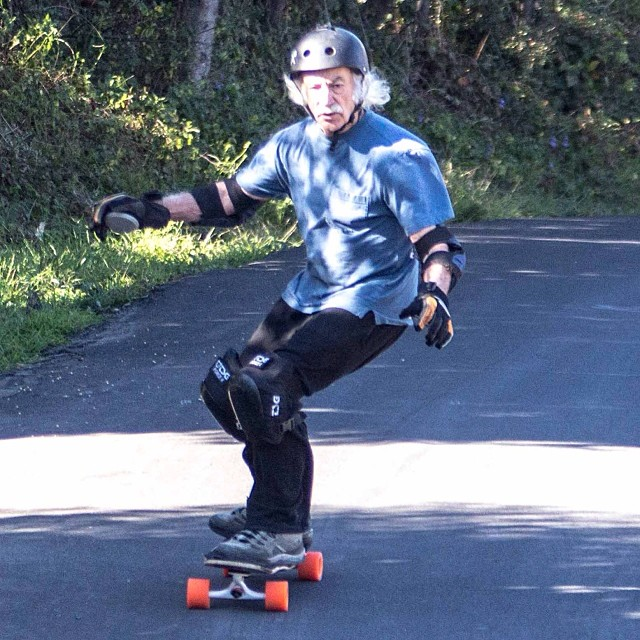 Lloyd Kahn cruisin on the #Tesseract