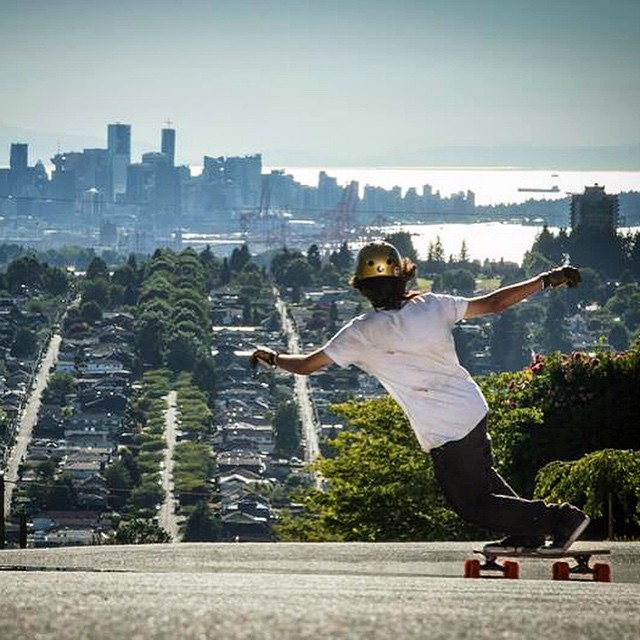 @sho_ouellette #Vancouver #theKilmer #orangatangwheels #GIANTloadTour