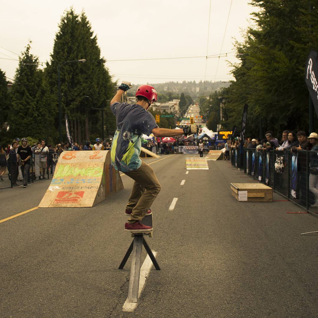 @kanapasaki brought the fun at the #khatsalanofestival this past weekend. He was found slapping some rails and spinning circles around your sister on his #raynephantom