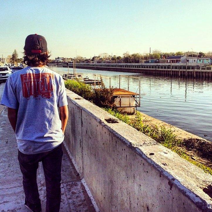 Santi Rezza @santirezza y su #favoriteVolcomTee #Tee x