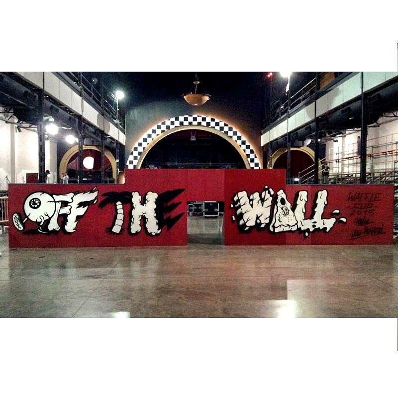 Off the wall - #VansWaffleCup Por @falucarolei y @joelmenazzi #artevans