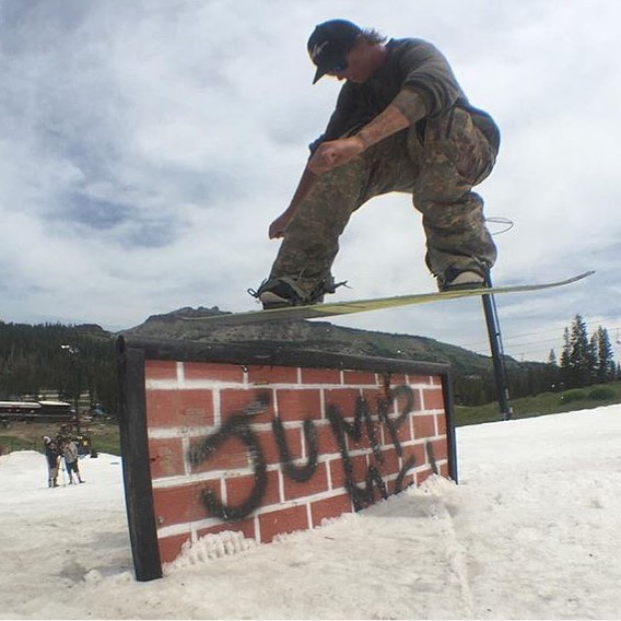 Team Captain @laneknaack @woodwardtahoe #LaneKnaackmodel #ForRidersByRiders #HandMadeUSA  #weareOK #switch