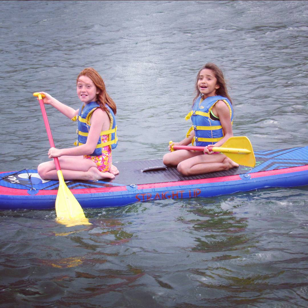 Days on the water are some of our favorite backyard adventures! #inspireyouth