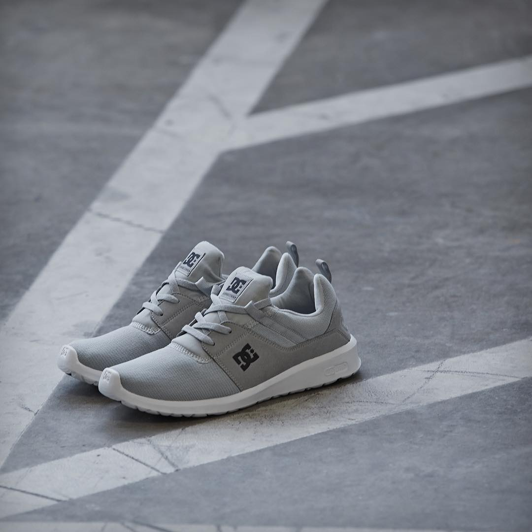 The Heathrow in light grey. Where will you wear them? dcshoes.com/heathrow #DCShoes #DCHeathrow