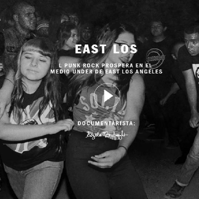 """Ya podes ver """" East Los"""" el primer documental de #livingoffthewall by Angela Boatwrigth.  Miralo en : vans.com/livingoffthewall  #documental #eastlos #punk #under"""