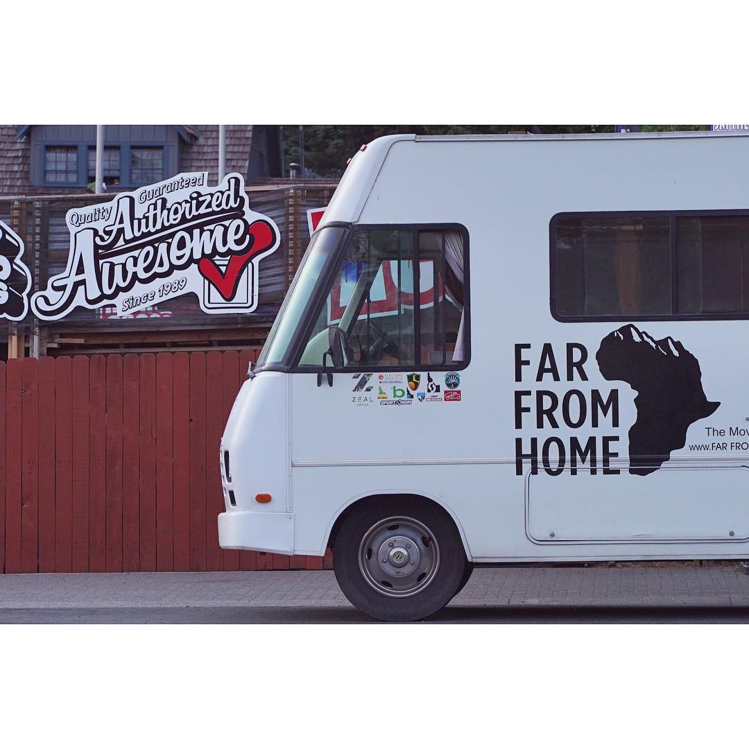 the @farfromhomemovie crew has completed their summer training at @windellscamp and @highcascade, the #PHGB motor home is #authorizedawesome and the best way to get to the mountain #adventuremobile #givesyoupurpose #healthyliving
