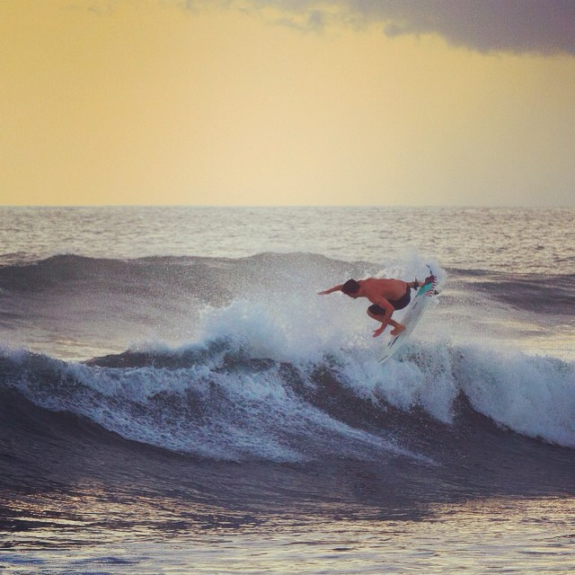 Peaches and cream with #Flowfold ambassador Nick Power.