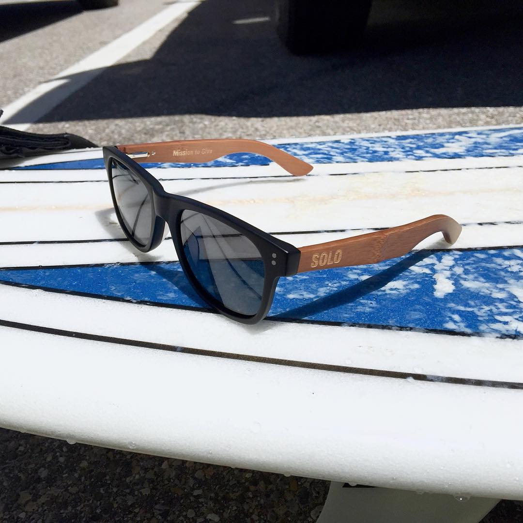 Today's SOLO Forecast: Offshore winds and Dominicans.  #SOLOeyewear  Photo by Creative Ambassador @fig_adam