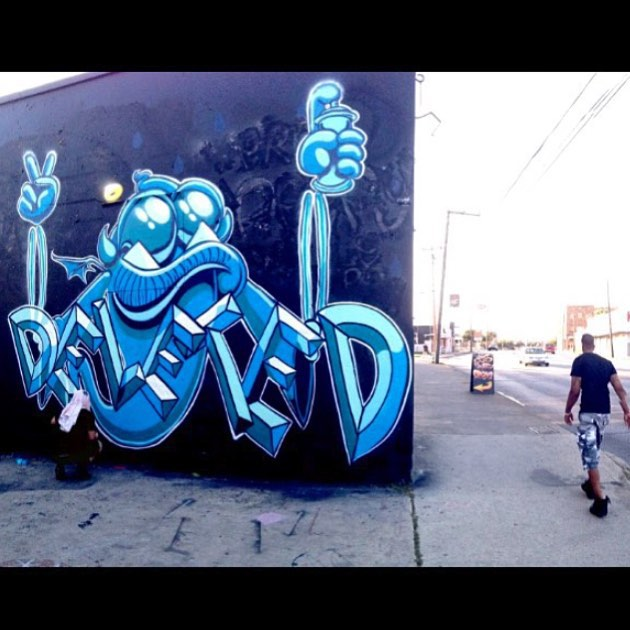 @deletedtx • • #deleted #sanantonio #satx #graffiti #graff #streeart #texas #tx