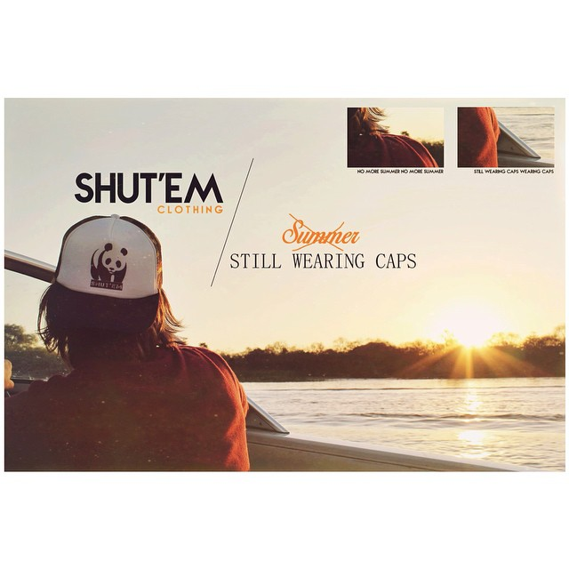 No more summer. Still wearing (SHUT'EM) caps. Consultanos stock y encarganos la tuya!  #shutem #clothing #no #more #summer #love #caps #winter #season #outfit