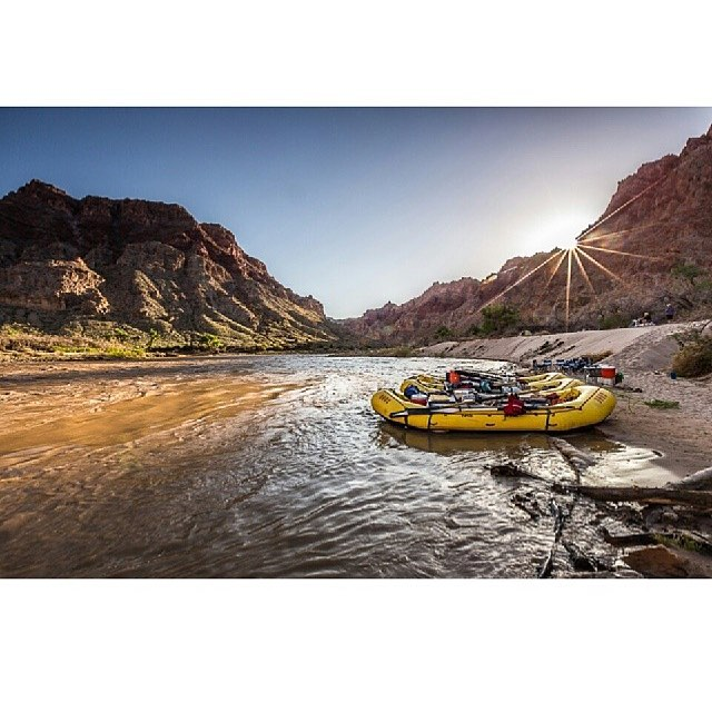 Farewell Social Media. Off to row a 4 day Cataract Canyon trip with @oars_rafting. This canyon has so many memories, so stoked to reconnect with them.