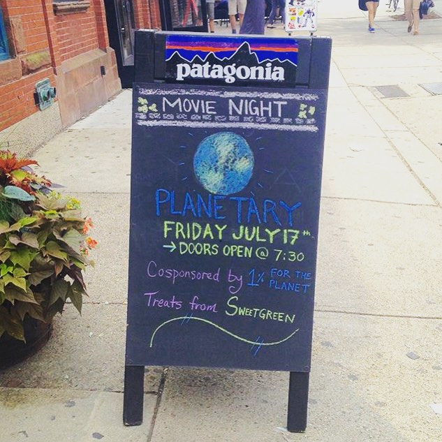 "Calling all #Boston friends! End your week with a movie night with @patagoniaboston! ""Planetary asks us to rethink who we really are, to reconsider our relationship with ourselves, each other and the world around us."" Check out the trailer in their..."