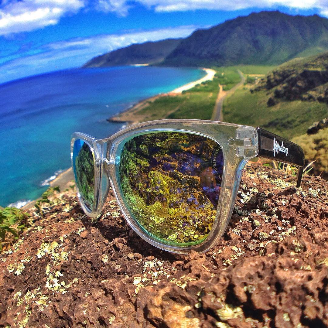 Congratulations again to our Adventure Hunt winners @pala_sun & @mermaid_party who won a trip for two to Hawaii yesterday! We're giving away another trip this winter & announcing all the locations in advance this August! Add KameleonzShades on Snapchat...