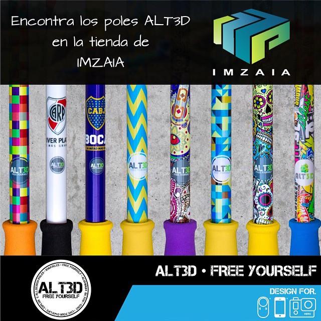 Encontra todos los modelos @alt.3d en la tienda de #IMZAIA ✅ •••••••••••••••••••••••••••••••••••••••••••••••••••••••• #knuckles #goout #designpoles #freeyourself @alt.3d #liveyourownlife #beyou #exploreall...