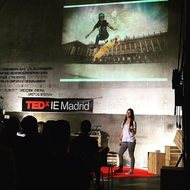 This happened. @valeriakechichian, the lady behind Longboard Girls Crew gave an inspirational @Tedxevents Talk in Madrid last Thursday about her life, society, women and the absolute need for shift.  No matter where we come from or what life had put is...