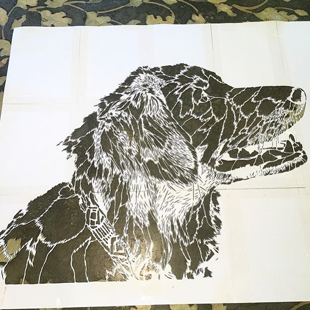 @g52cube • • #texas #tx #stencil #g52 #art #spratx
