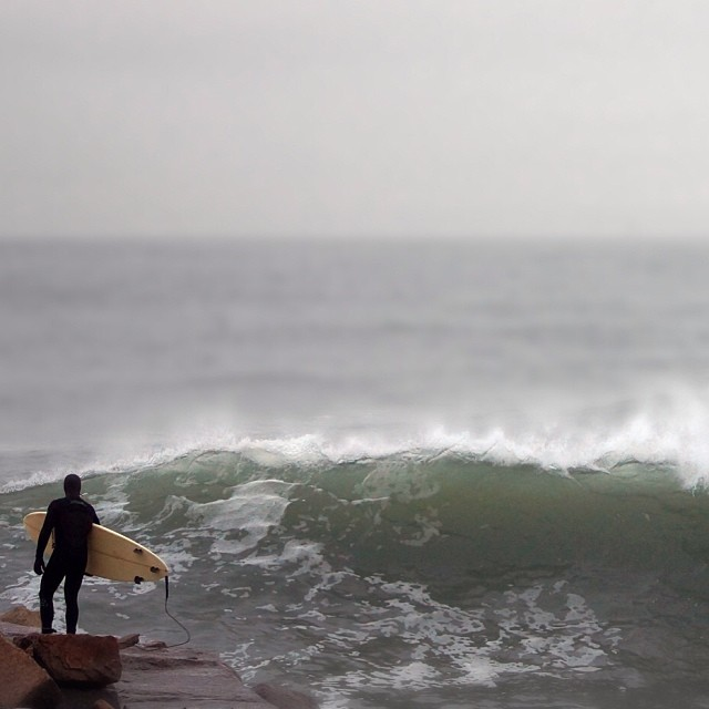 Old photo, new waves. Here they come, with a bit of snow. See you out there! #coldasf #coldwatersurf #winter #instagood #photooftheday #like #picoftheday #instadaily #ig #instasurf #webstagram #bestoftheday #love #follow #igdaily #newengland...