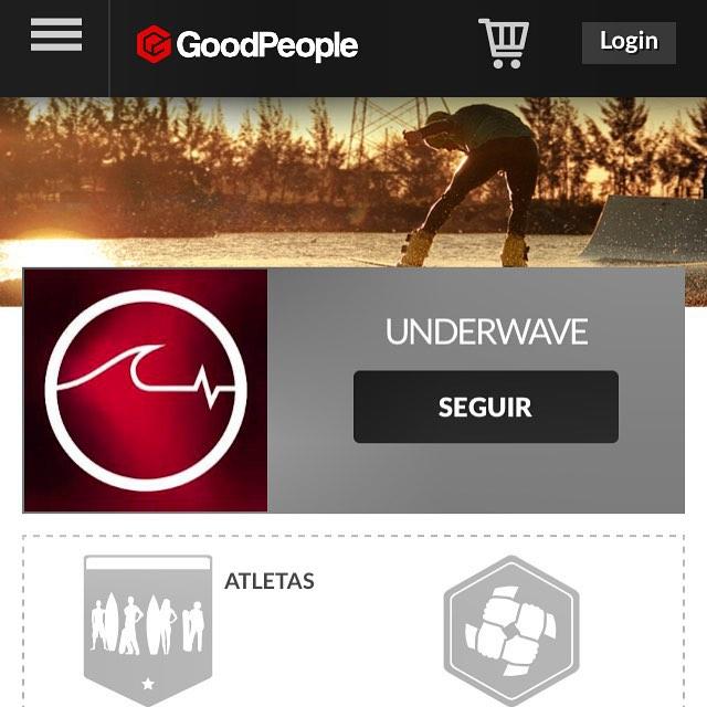 Todavía no nos seguís en la página de nuestros amigos de @goodpeoplearg? Ingresá a www.goodpeople.com/underwave y empezá a seguirnos para saber las últimas novedades!