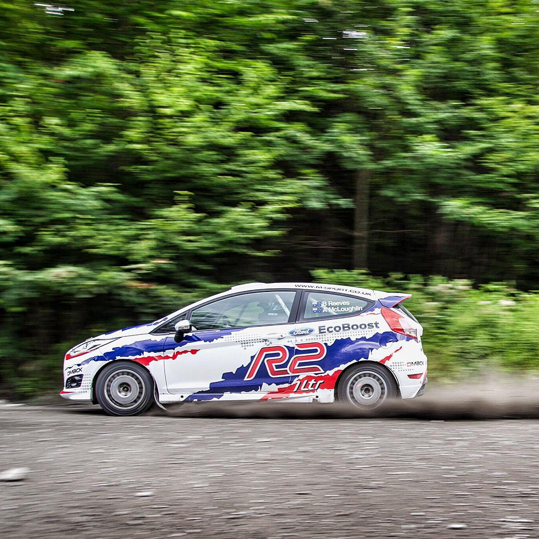 Another fun @MSportLTD car that's being tested/raced this week is their new Ford Fiesta R2 1 liter, that's being piloted by Brendan Reeves (@brendorally). Yup, 1 liter + 3 cylinders + an angry sounding turbo, all making more HP more efficiently than...