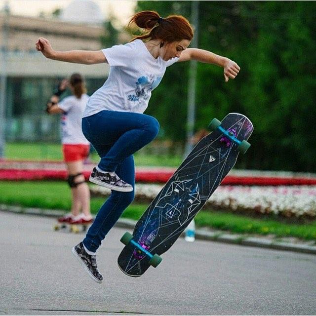 LGC Russia rider @katevoynova is killer. Have a great day family!  #longboardgirlscrew #womensupportingwomen #skatelikeagirl #girlswhoshred #lgcrussia #russia #katevoynova #boss