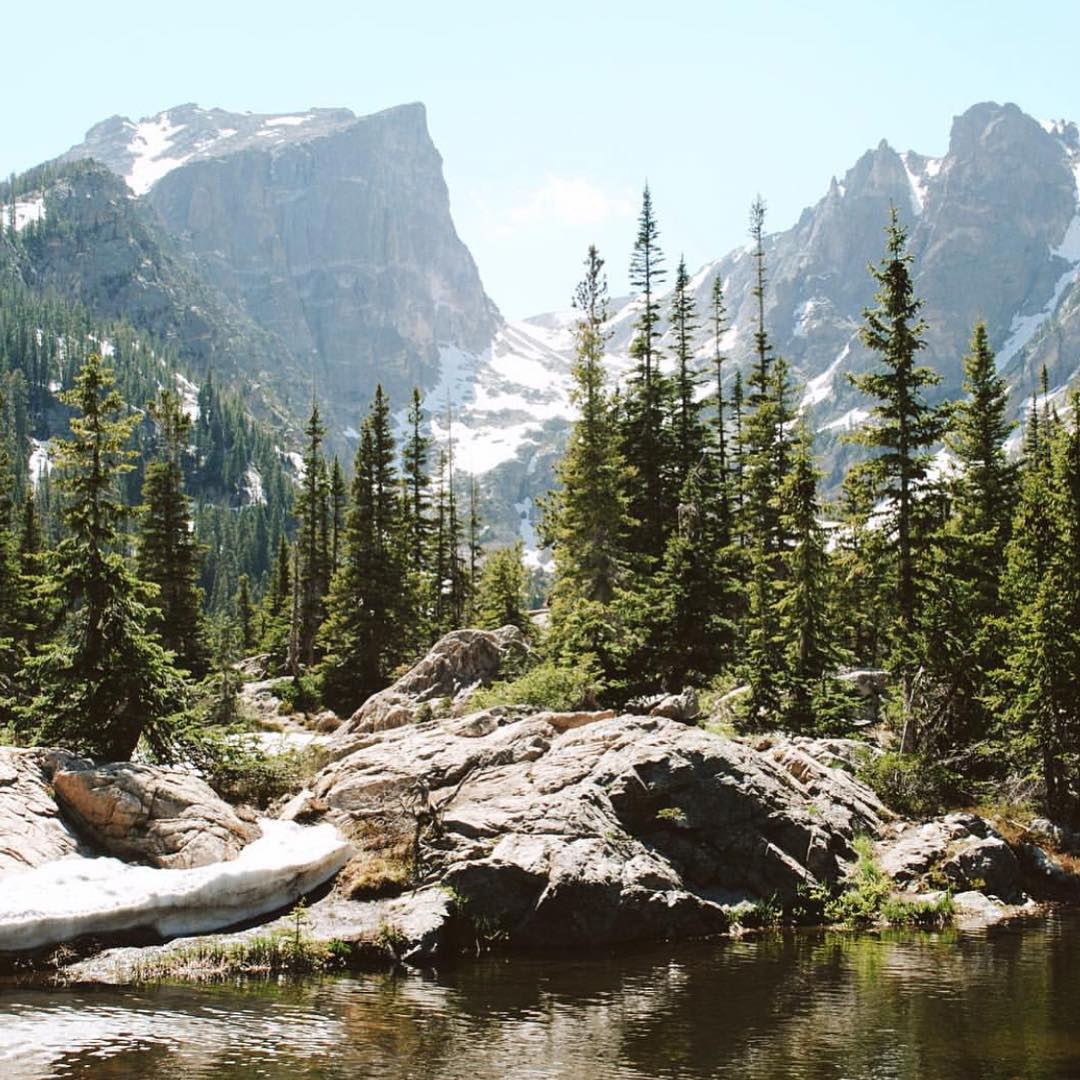 For @abovethetreelinee, this summer marks the start of taking on some epic hikes in Rocky Mountain National Park, starting with Bluebird Lake! #radparks #parksproject