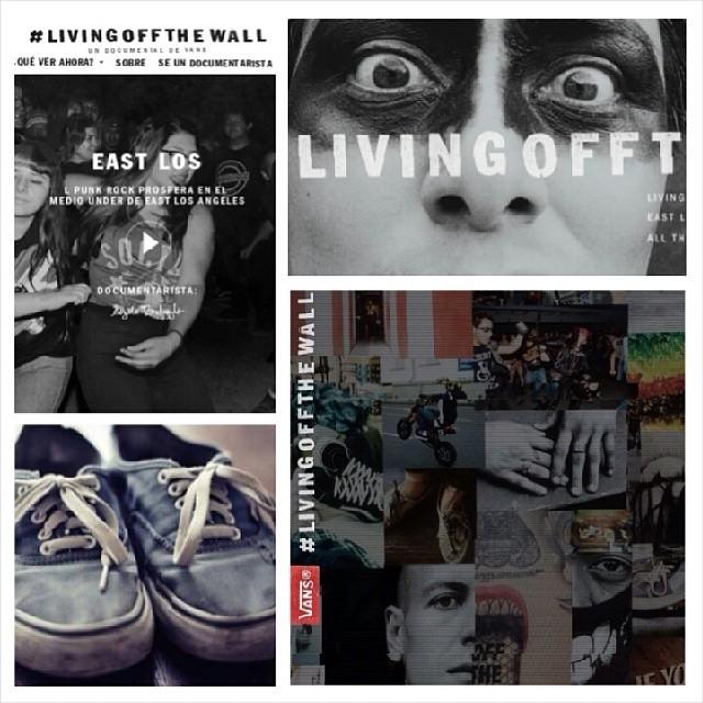 La serie de documentales #livingoffthewall te espera en vans.com/livingoffthewall Hoy se estrenó East Los by Angela Boatwrigth!