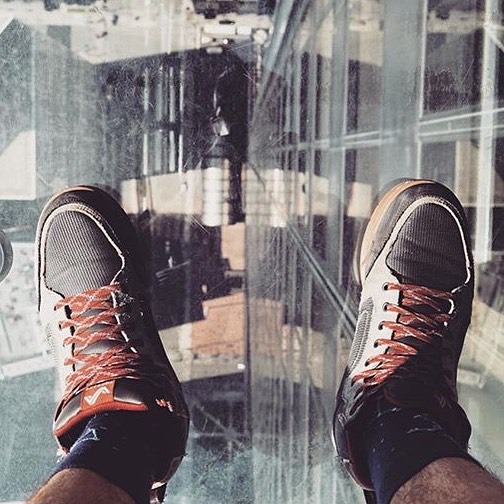 Repost from @loveyerland of the Clydes. It's a long way from the top! #getoutthere #adventureworthy #EverydayAdventure #chicago