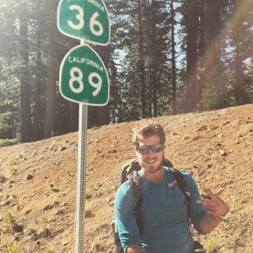 You meet some of the coolest people in #Truckee! We spent the 4th with two amazing people hiking the #PCT. They just passed the halfway point in #Lassen. Follow their journey @lizbryant